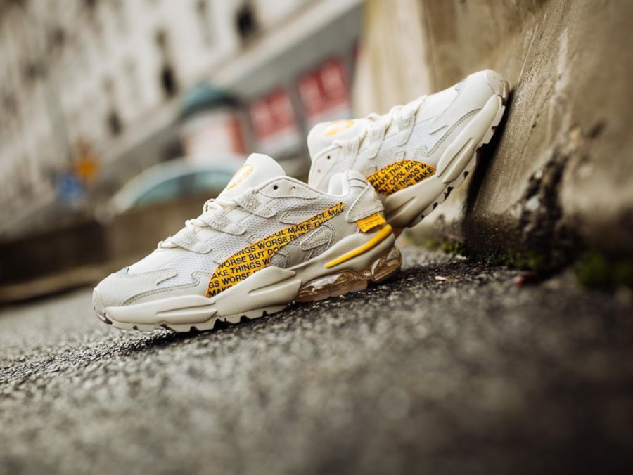 Randomevent x Puma Cell Alien 'White Asparagus Lemon Chrome' (1)