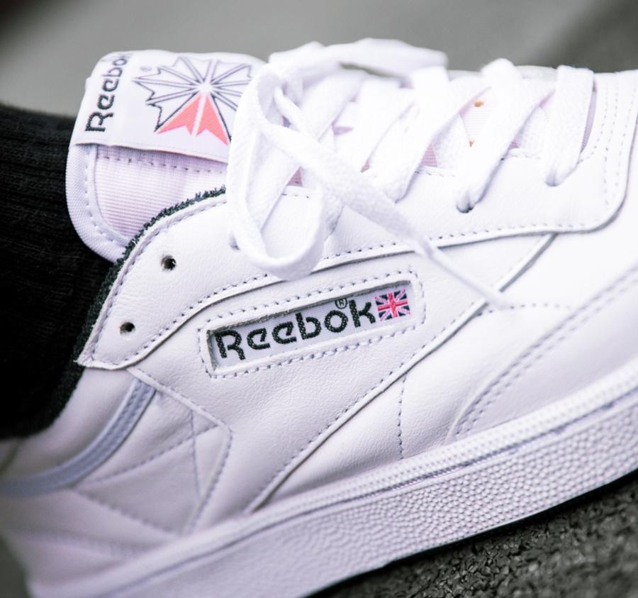 Reebok Club C 85 OG White Collegiate Navy (35th Anniversary) (5)