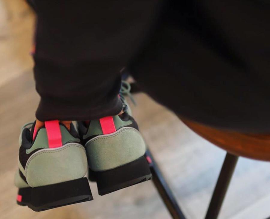 Reebok W Classic Leather Ripple Trail 'Green Slate Solar Pink' (3)