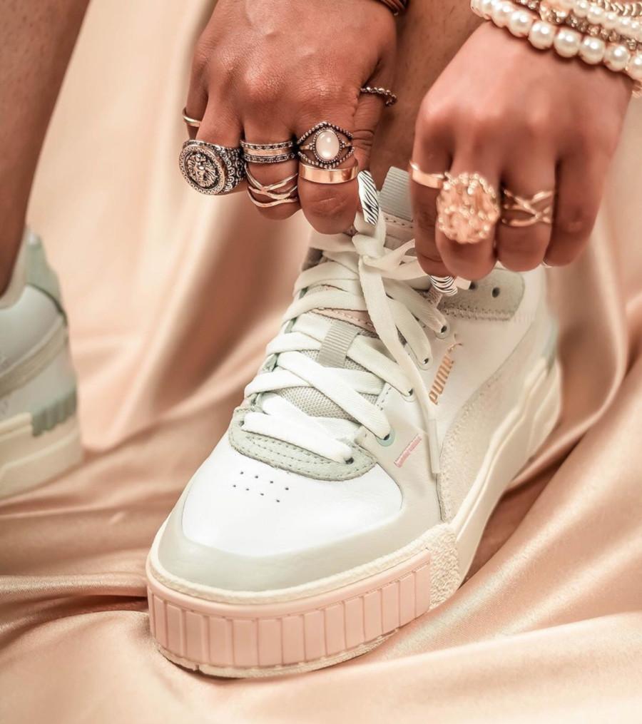 Selena Gomez x Puma Cali Sport Mix Wn's 'White Marshmallow' (4)