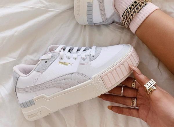 Selena Gomez x Puma Cali Sport Mix Wn's 'White Marshmallow' (couv)
