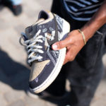 Travis Scott x Nike SB Dunk Low Pro 'Black Parachute Beige Petra Brown'