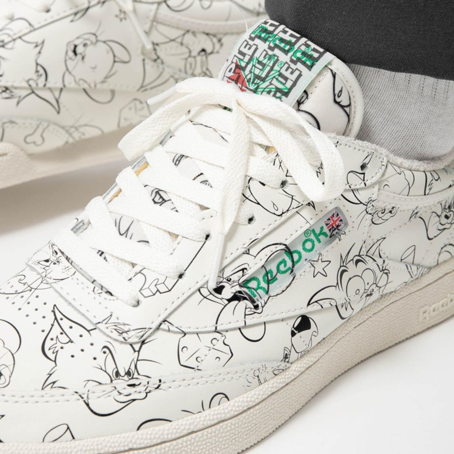 Warner Bros x Tom and Jerry x Reebok Club C 85 MU 'Allover' (3)