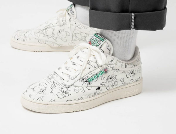 Warner Bros x Tom and Jerry x Reebok Club C 85 MU 'Allover' (4)