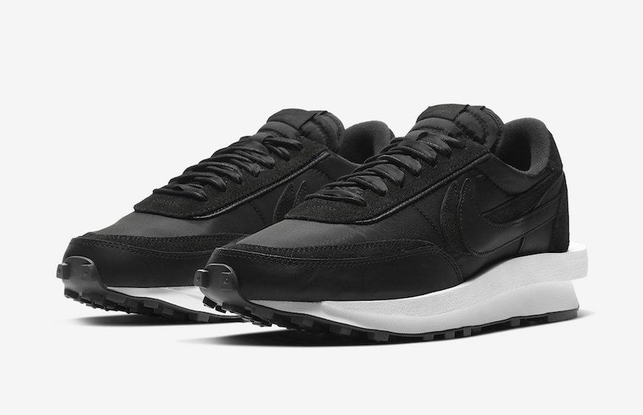 sacai-Nike-LDWaffle-Black-Nylon-BV0073-002-sortie