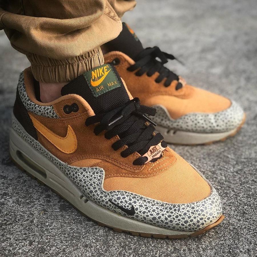 Atmos x Nike Air Max 1 Atmos Safari - @maydjahlook