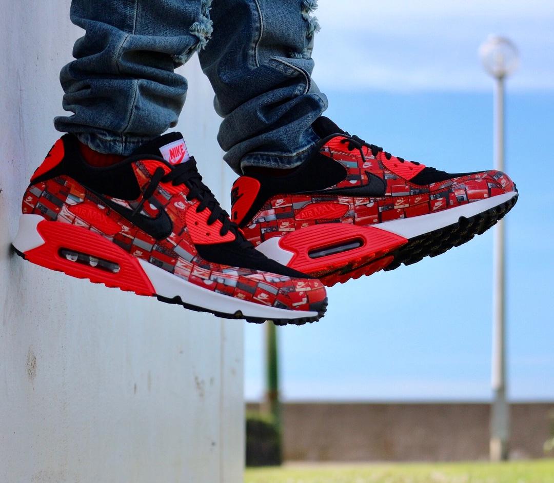 Atmos x Nike Air Max 90 Shoebox - @takuugle