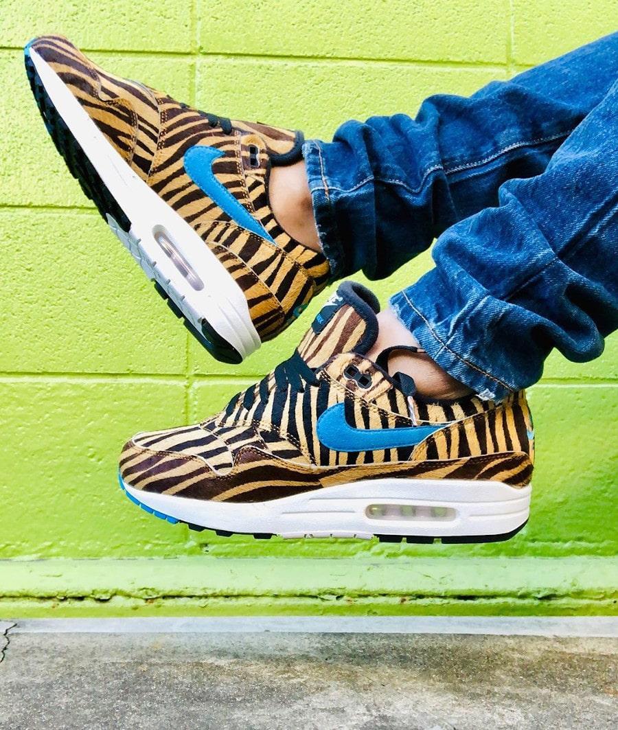 2019 Atmos x Nike Air Max 1 Animal 3.0 Tiger - @sneakerheadology
