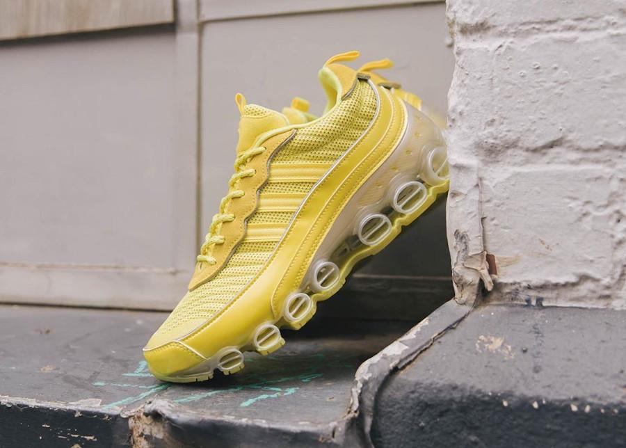 Adidas Microbounce T1 jaune Shock Yellow FW9598