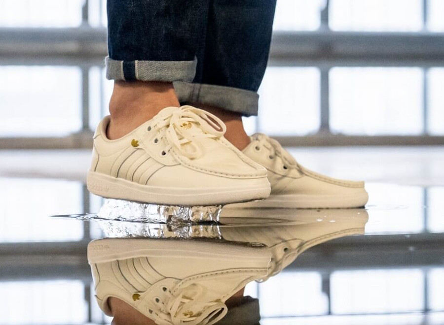 Adidas Originals Punstock 'Off White Raw Desert Clear Brown' (3-1)