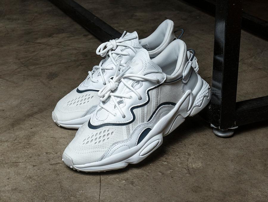 Adidas Ozweego Adiprene Reflective Xeno White EF4287