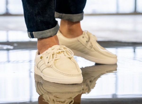Adidas Punstock blanche Off White EF5709