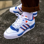 Adidas Rivalry Low 'Knicks' Cloud White Blue Orange