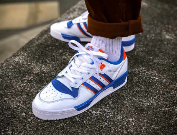 Adidas Rivalry Low OG Knicks Retro 2020 FU6833