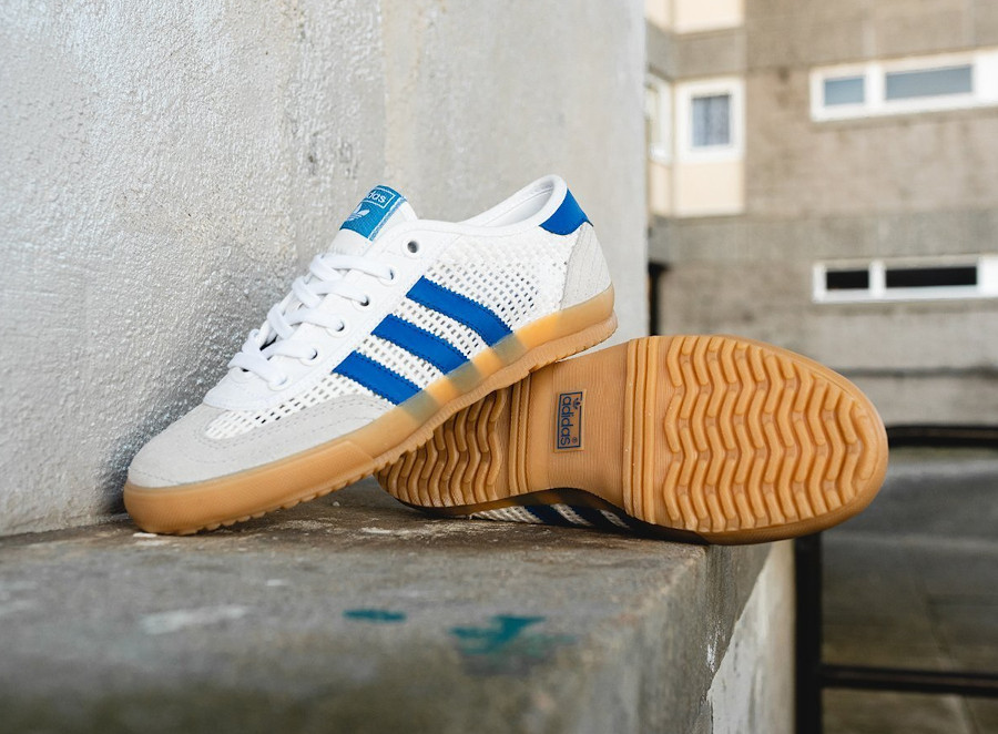 Adidas Tischtennis OG Cloud White Grey Two Royal Blue (2)