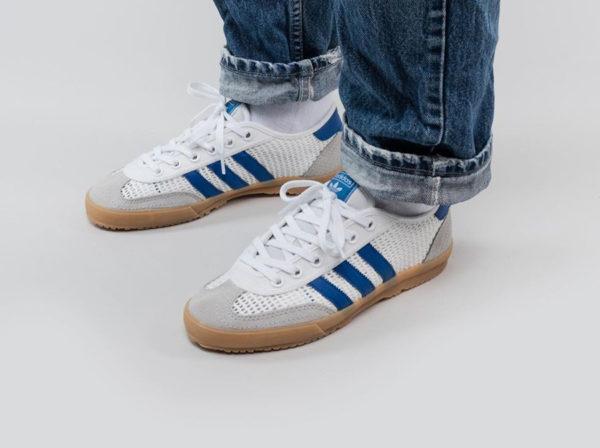 Adidas Tischtennis Volley OG 2020 White Blue Grey EF5629