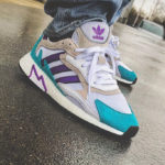 Adidas Tresc Run Cloud White Active Purple Hi-Res Aqua