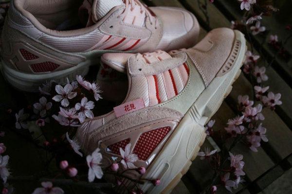 Adidas ZX 8000 Icey Pink Hanami Kirschblütenallee FU7308