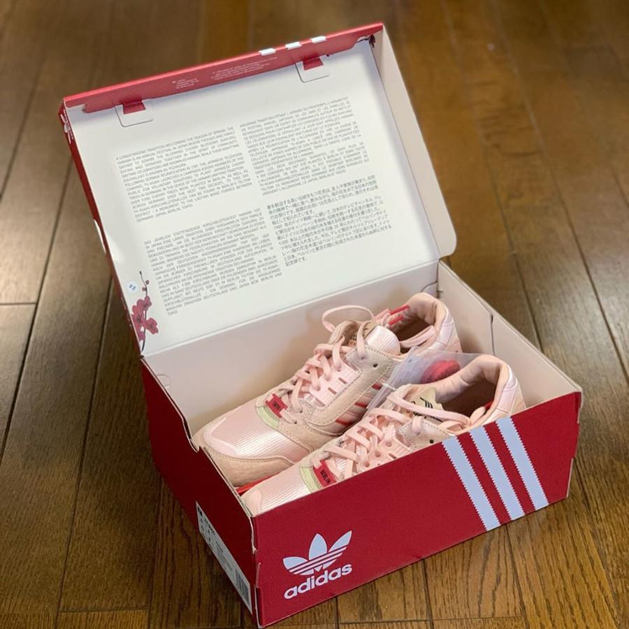 Adidas ZX 8000 Icey Pink Hanami Pack (Kirschblütenallee) (1-1)