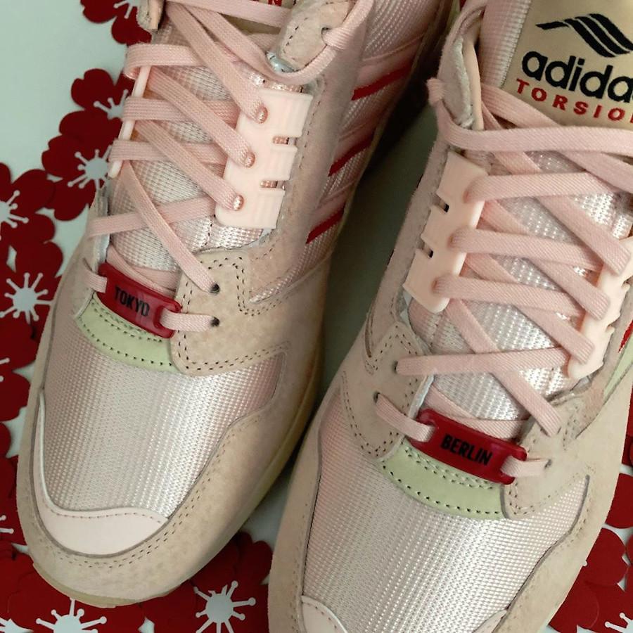 Adidas ZX 8000 Icey Pink Hanami Pack (Kirschblütenallee) (5)