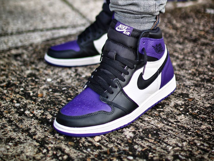 Air Jordan 1 Court Purple de 2018