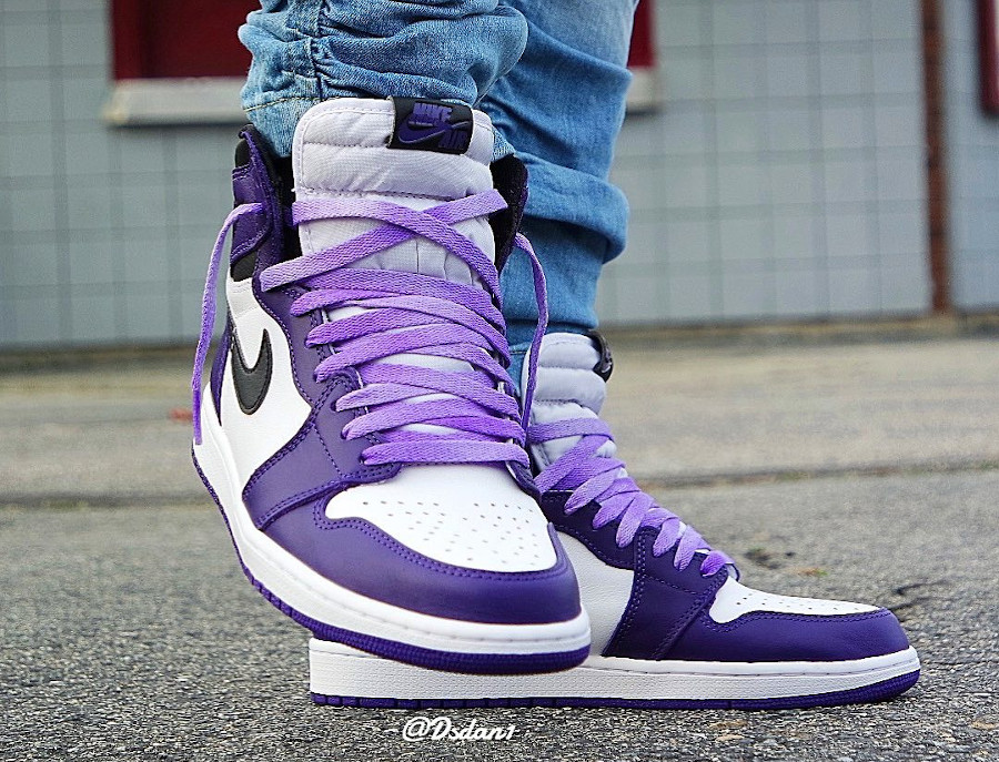 Air Jordan 1 Retro High OG Court Purple White Black 2 (6)