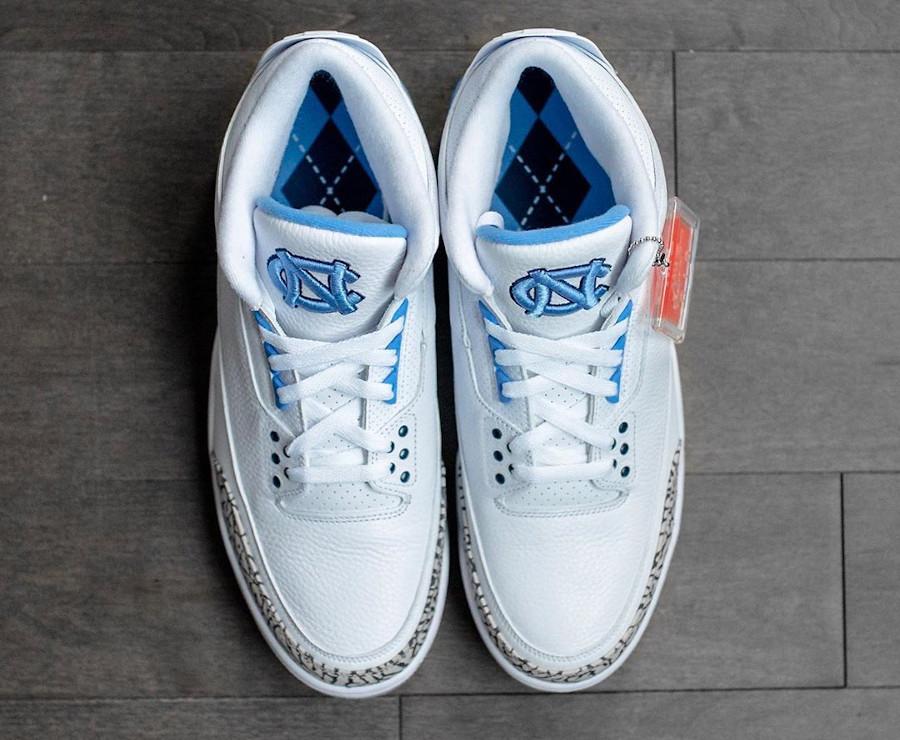 Air Jordan 3 PE UNC