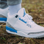 Air Jordan III Retro 'UNC' Valor Blue (2020)