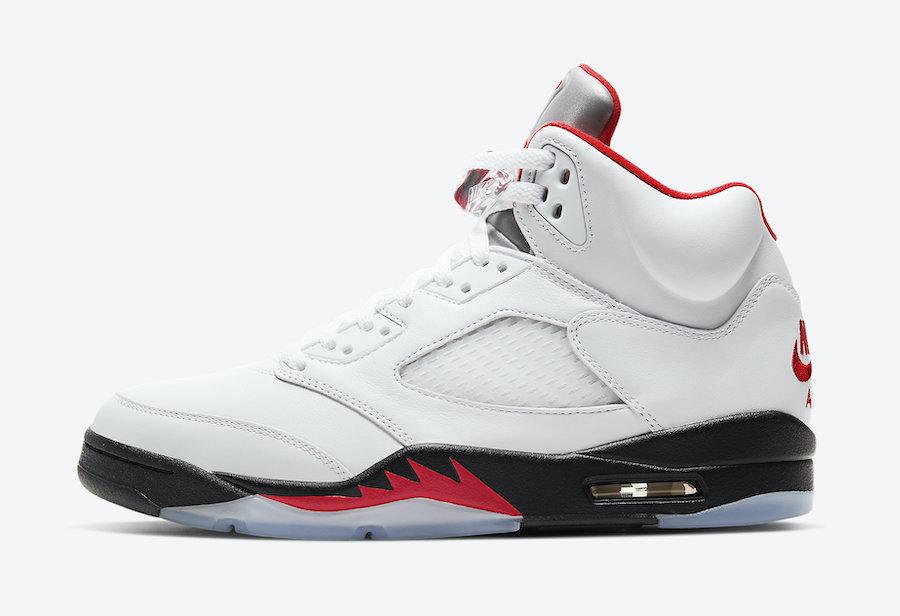 Air Jordan 5 Retro Fire Red sortie france