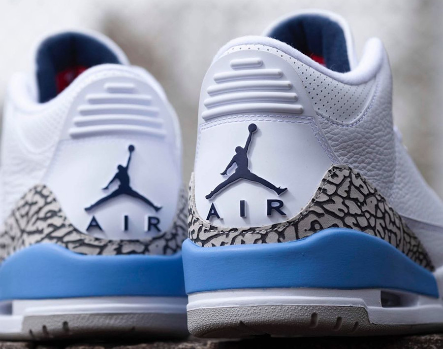 Air Jordan III Retro UNC Valor Blue 2020 (3)