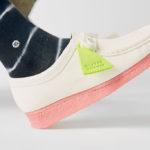 Clarks Originals Wallabee Bright White Pink (Neon Pack)
