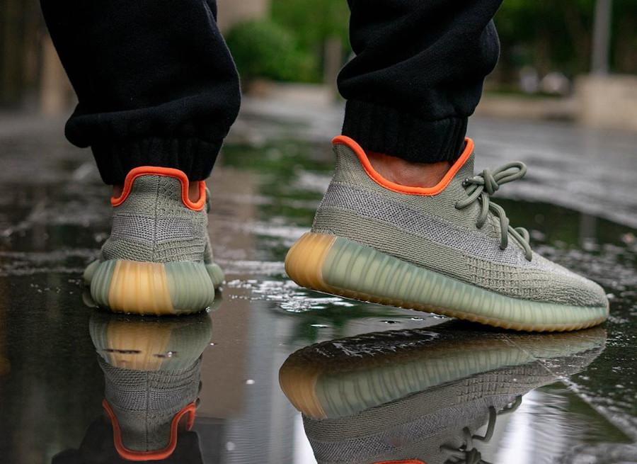 Kanye West x Adidas Yeezy Boost 350 V2 Desert Sage (1)