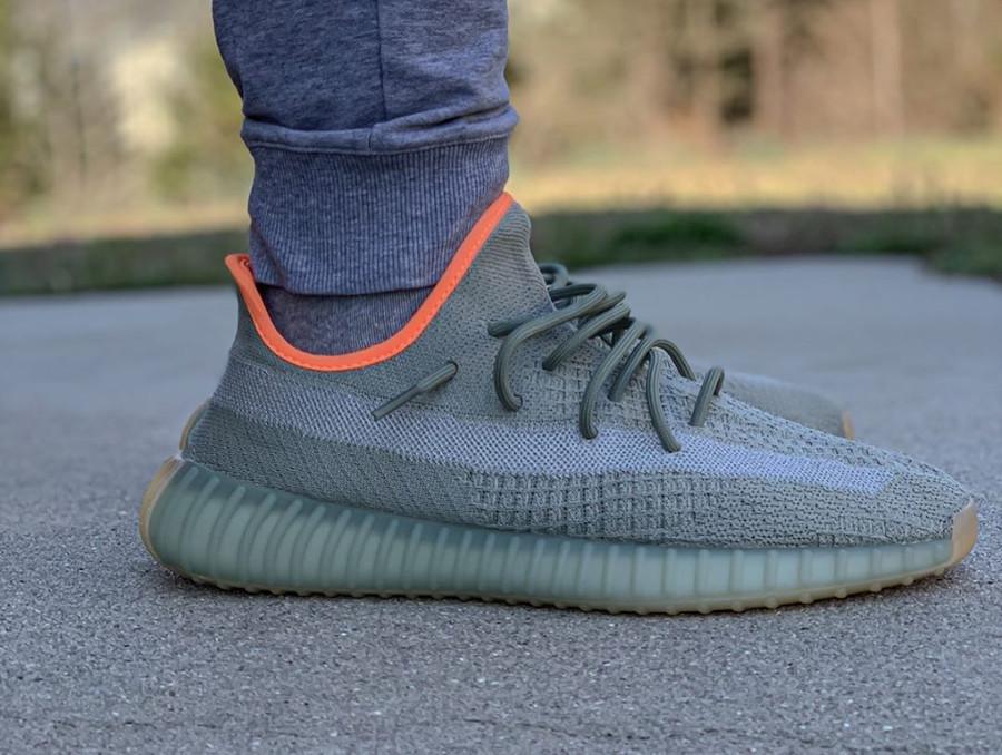 Kanye West x Adidas Yeezy Boost 350 V2 Desert Sage (2-1)