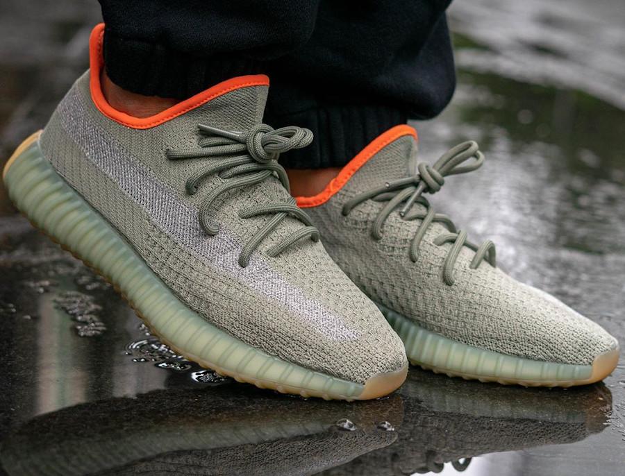 Kanye West x Adidas Yeezy Boost 350 V2 Desert Sage (2)
