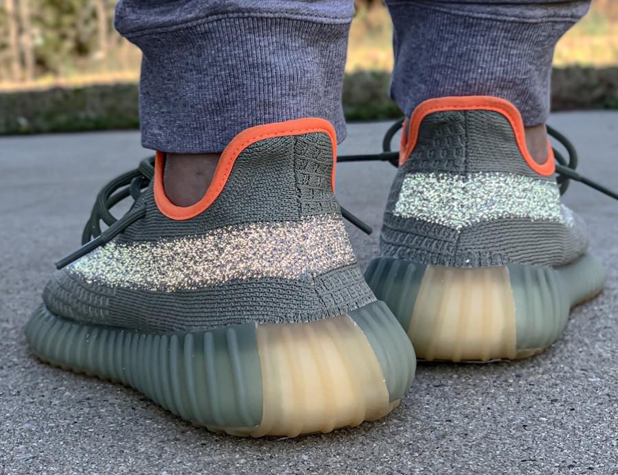 Kanye West x Adidas Yeezy Boost 350 V2 Desert Sage (3)