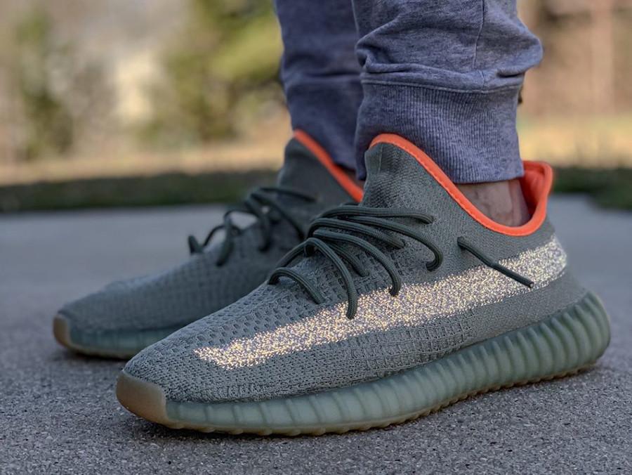 Kanye West x Adidas Yeezy Boost 350 V2 Desert Sage (4)