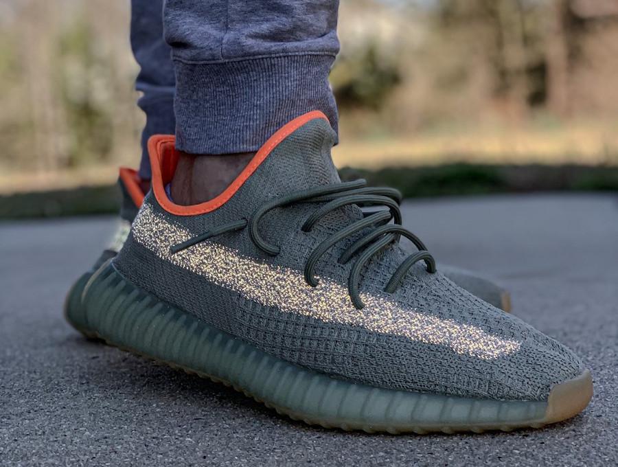 Kanye West x Adidas Yeezy Boost 350 V2 Desert Sage (7)