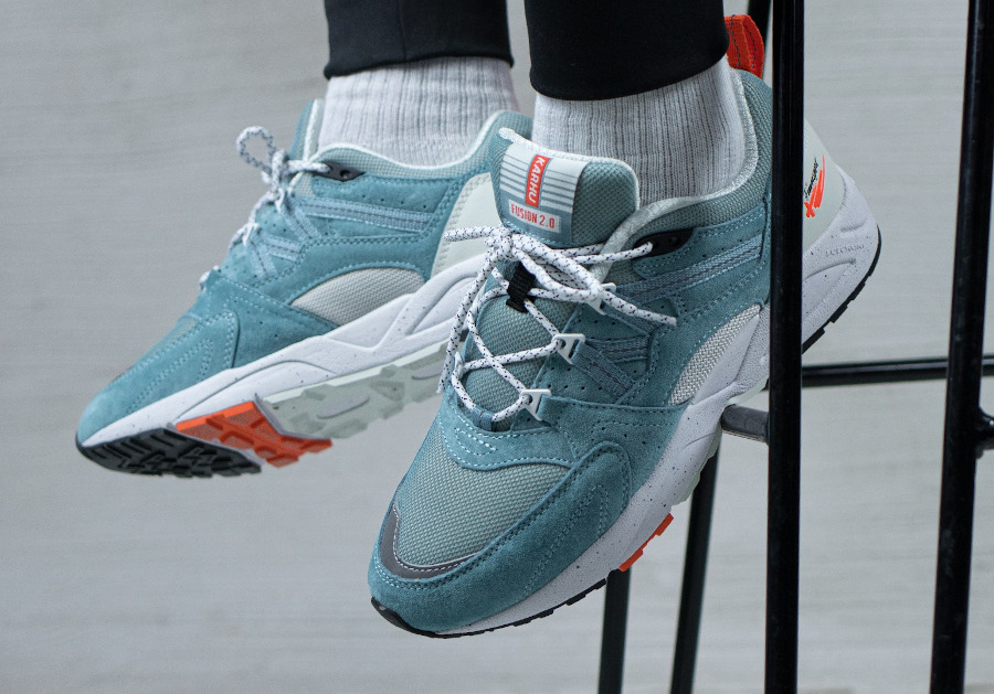 Karhu Fusion 2.0 'Cameo Blue Lily White' (True to Form) on feet (2)