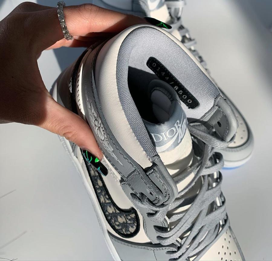 Kim Jones x Air Jordan 1 High Retro 'Air Dior' (made in Italy) (4)