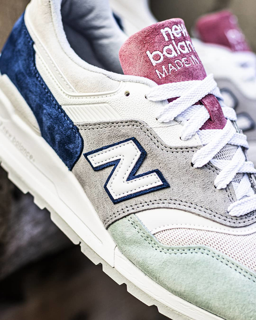 New Balance 997 'Less is More' Grey Green Pink (made in USA) (3)