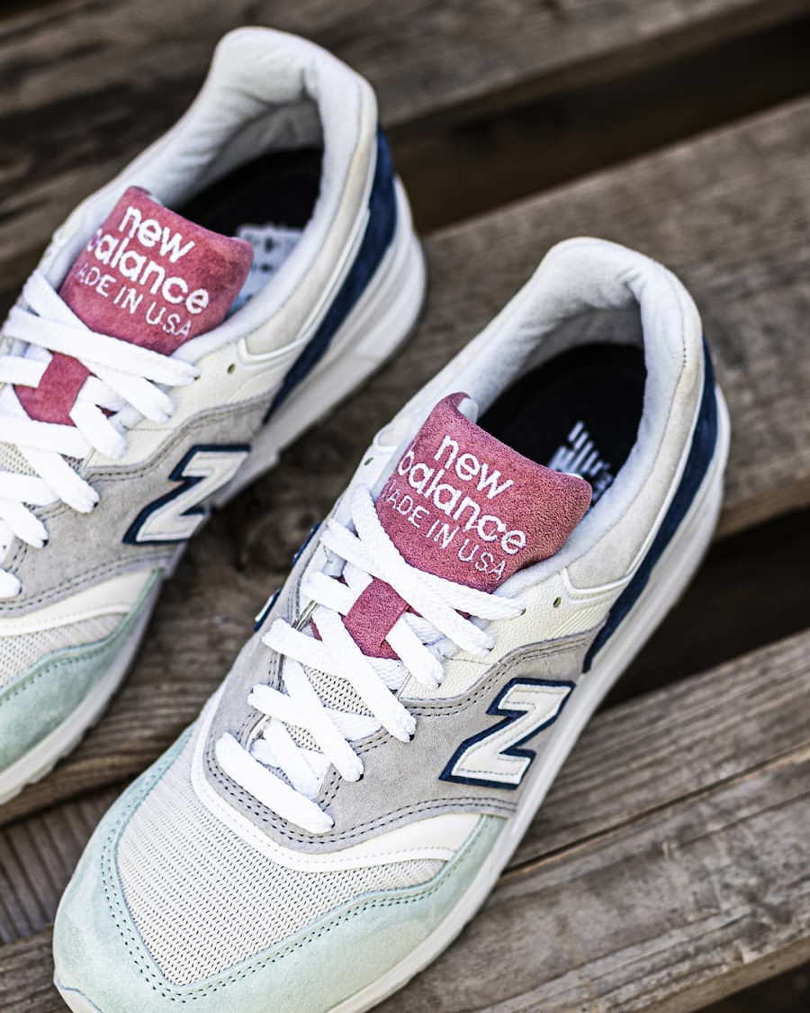 New Balance 997 'Less is More' Grey Green Pink (made in USA) (4)