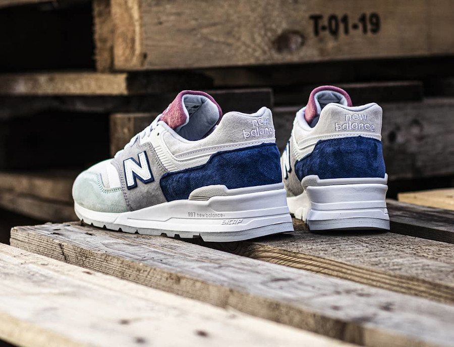 New Balance 997 'Less is More' Grey Green Pink (made in USA) (6)