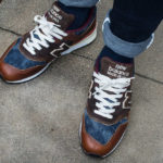 New Balance 997 'Elevated Basics' Brown Leather Blue Denim (Made in USA)
