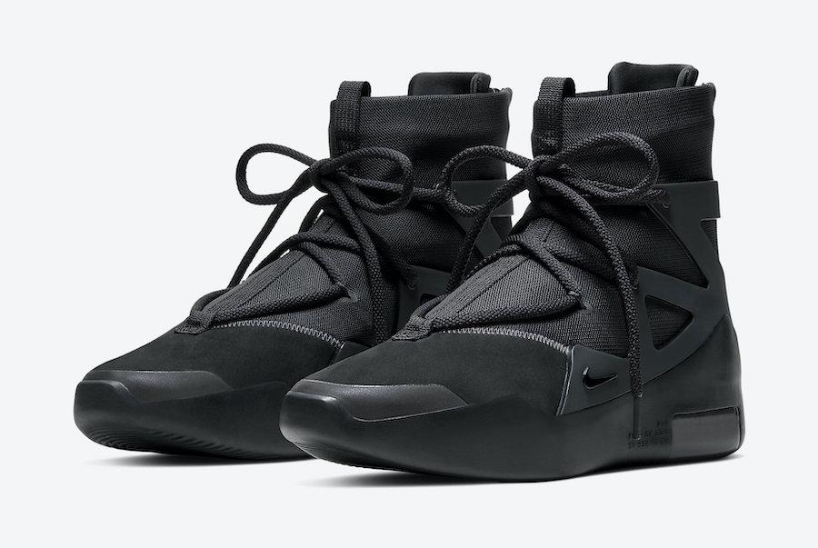 Nike Air Fear of God 1 Triple Black