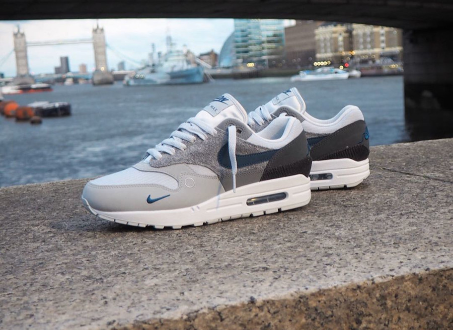 Que vaut la Nike Air Max 1 City LDN London 2020 CV1639 001 ?