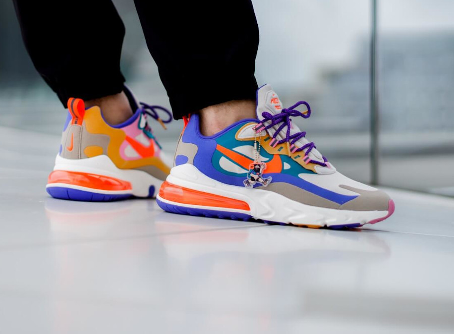 Nike Air Max 270 React ACG Light Orewood Brown Orange Blue (5)