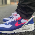 Nike Air Max 90 Flyease Deep Royal Blue Hyper Pink