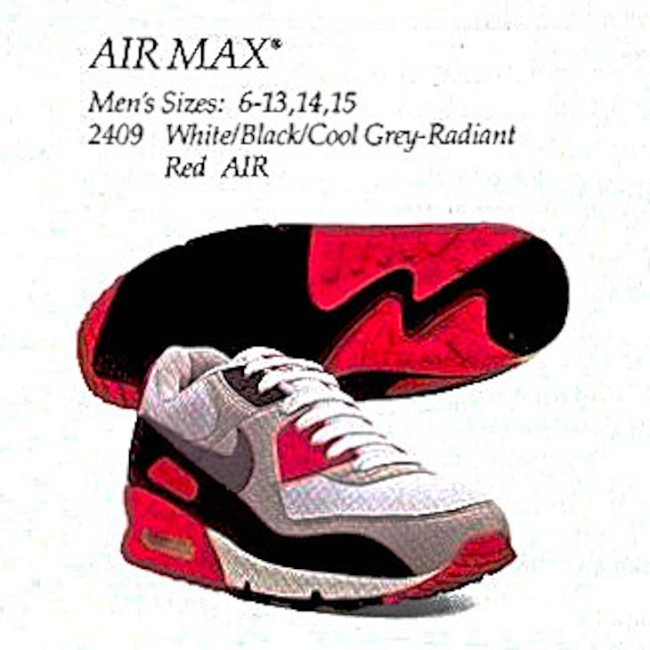 Nike Air Max 90 OG Radient Red de 1990