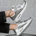 Nike Wmns Air Max 90 SP Metallic Pack 'Chrome'
