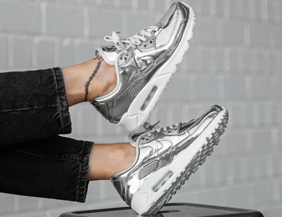 Que vaut la Nike Air Max 90 SP Medal Metallic Silver Chrome